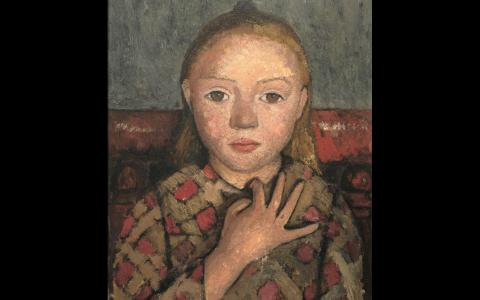 Paula Modersohn-Becker at the Musée d'Art Moderne de la Ville de Paris