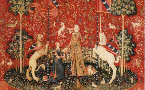 Magical Unicorns at Cluny Museum